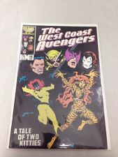 West Coast Avengers # 16 Marvel Comics January 1987 Iron Man Avengers Hawkeye