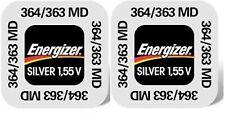ENVOI SOUS SUIVI - Energizer lot de 2 piles 364 / 363 / G1 / SR621SW 1,55 volt