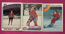 1976 1977 1978 OPC CANADIENS BOB GAINEY CARD (INV# 8189)