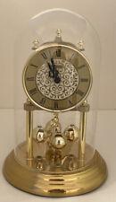 Bulova Quartz B8704 Anniversary Dome Mantel Clock Time Piece Made in Germany