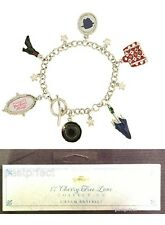 Disney Store MARY POPPINS 6 CHARM BRACELET Silvertone Broadway Musical Gift Box