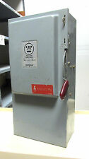 * NEW..Westinghouse Heavy Duty Safety Switch 100A, 600V Cat# HU363 .. DS-720