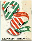 1950s Christmas Catalog Penney's Is Your Santa J.C. Penney Company Toys Trains