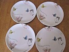 "Nature'S Journey, Marjolein Bastin (4) 7"" Dessert / Salad Plates, 2008, Euc"