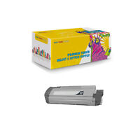 Compatible 1 x 44315304 Black Toner Cartridge for Okidata C610