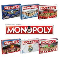 Monopoly Football Games> Man City FC - Liverpool FC - Real Madrid FC and more