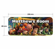 Toy Story Personnalisé Enfants Chambre Porte Plaque Signe filles