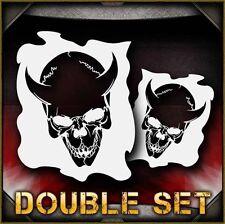 Skull 27b Airbrush Stencil Template Airsick