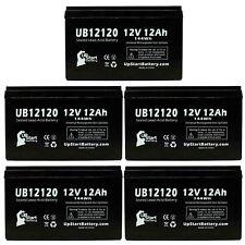 5-pack Apc rbc32 33 Battery UB12120 12V 12Ah Sealed Lead Acid SLA AGM