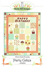Quilt Pattern ~ PARTY CAKES ~ by Bunny Hill Designs - Charm Pack Friendly