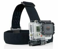 Elastic Mount Belt Head Strap Headband  for GoPro HERO7 6 5 Session 4 3 Xiaoyi