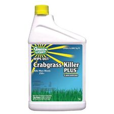 GREEN LIGHT 7462 Wipe-Out Crabgrass Killer PLUS Concentrate - 1-Quart