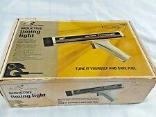 Vintage Sears Craftsman Inductive Timing Light 28 2134 With Original Manual
