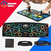 14 in 1 Push up Board Stand Fitness Workout Pull rope GYM Chest Muscle Training
