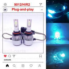 2020 NEW 9012 HIR2 LED Headlights Bulbs Professional Kit 60W 6500LM 8000K Blue