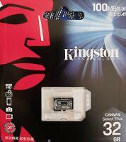 KINGSTON MICRO SD CARD 32GB,64GB Class10 SDHC SDXC PHONE/DASH CAM MEMORY,100MB/S