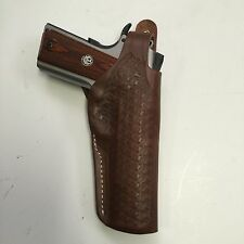 "Colt 1911 5"", Springfield, Ruger RIA Remington Brown Right Hand Leather Holster"