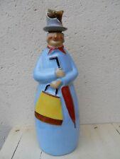 Robj Paris personnage 1920-30 bouteille flacon Raspail