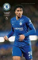 Chelsea v Tottenham Hotspur Spurs Programme +LINE-UP 22/2/20 Mourinho return :-)