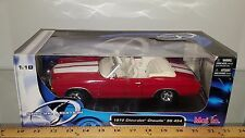 1/18 MAISTO SPECIAL EDITION 1972 CHEVROLET CHEVELLE SS 454 RED & WHITE bd