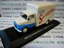 PIT9D 1/43 IXO Altaya Véhicules ITALIE FIAT 615 N frigorifique Glace 1957