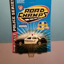 ROAD CHAMPS (43031) 1:43 SCALE DIECAST METAL MONTGOMERY ALABAMA POLICE CAR
