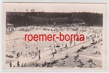 76256 Foto Ak Großröhrsdorf in Sachsen Schwimmbad 1943