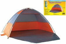 Beach tent with door for shelter wind & rain picnics festivals pets garden