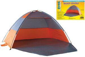 Beach tent with door for shelter wind & rain picnics festivals pets garden