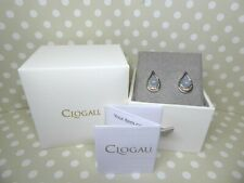 Clogau Gold, Silver & Rose Gold Serenade Opal Earrings RRP £199