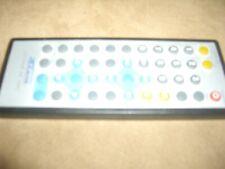telecommande takara lecteur dvd de voiture visiostar 7 pouces