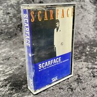 Scarface Music Motion Picture Soundtrack Cassette MCA 1983 MCAC-6126