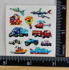 Sandylion MINI VEHICLES Stickers PRISMATIC TRANSPORTATION 1 SQUARE NEW