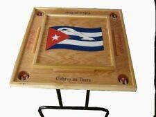Cuba flag Domino Table