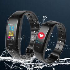 IP67 Bluetooth Smartwatch Armbanduhr Schrittzähler Wasserdicht Pulsuhr Sport Q8
