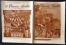 1933 DOMENICA SPORTIVA Alfredo Binda Giro Italia ciclismo Littoriali GUF Milano