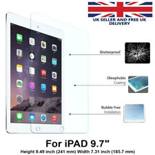 100% Genuine TEMPERED GLASS Screen Protector Cover for Apple 9.7″ iPad 2 3 4 UK