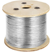 3/16 7x19 Stainless Steel Cable 500ft Reel (T304)