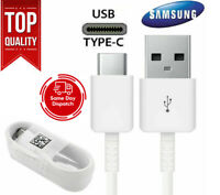 OEM Samsung Galaxy S10 S9 S8 Plus Note8 Fast Charger 3FT USB C Type-C Cable Cord