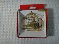 Tillamook Head Oregon Christmas Souvenir Ornament by Nations Treasures Brass