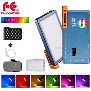 FalconEyes F7 RGB LED 2500K-9000K Pocket Camera Photography Video Fill Light