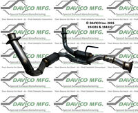 Catalytic Converter-Exact-Fit Front Right Davico Exc CA 194332