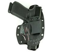 IWB Hybrid Kydex Holster Molon Labe USA for Walther Handguns