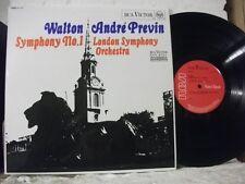SB-6691 WALTON Symph No 1 LSO ANDRE PREVIN RCA VICTOR RED SEAL STEREO UK 1967 LP