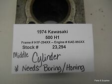 1974 Kawasaki 500 H1 Middle Engine Cylinder