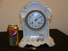 KPM- AD.Mougin- Porcelain Antique French/German Hand Painted Clock