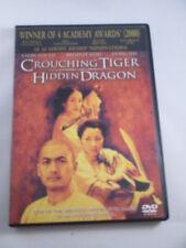 Crouching Tiger Hidden Dragon Dvd Ang Lee Chow Yun Fat Michelle Yeoh Zhang Ziyi!