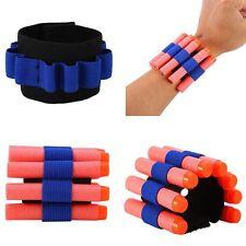 Elastic wrist band Wristband storage soft bullets For Nerf Gun Children toy