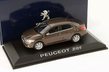 PEUGEOT 301 RICH OAK BROWN METAL 2012 NOREV 473101 1/43 BRAUN METALLIC
