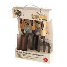 More details for spear and jackson elements3ps elements grow your own 3 piece gift set